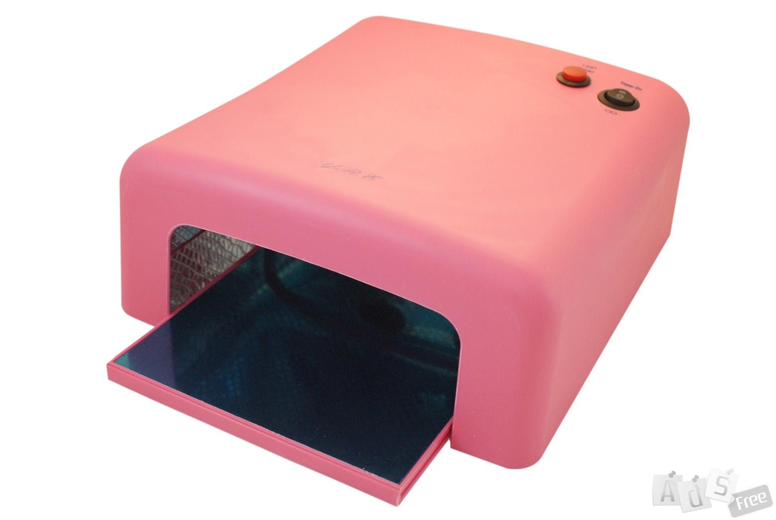 УФ лампа 36W YRE-818 розовая
