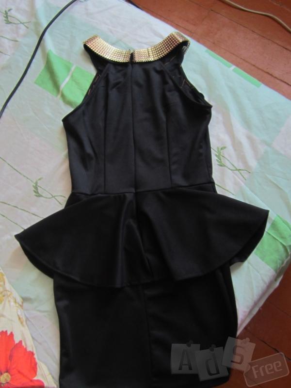Черное платечко