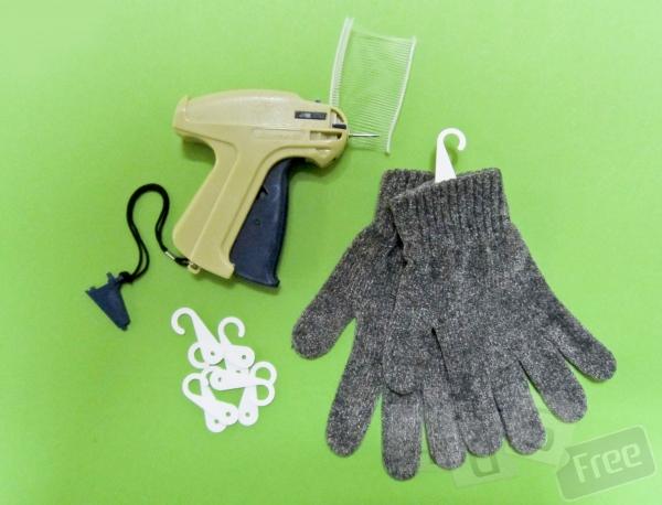 Крючки для упаковки перчаток, картон