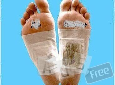 Очищающие пластыри на стопы -