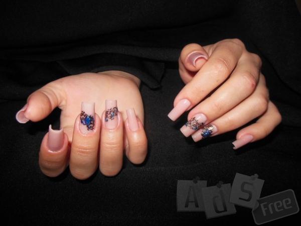Обучение арочному моделированию ногтей.