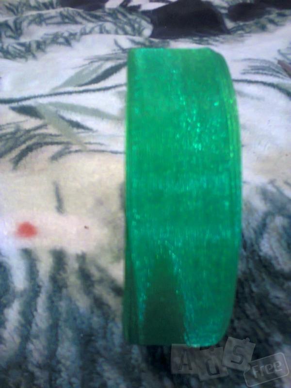 Лента зеленая 2 см