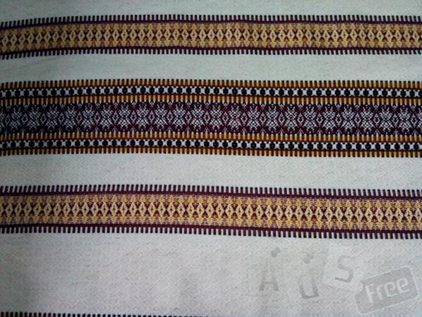 Патриотическое тканное полотно, производит. Харьков