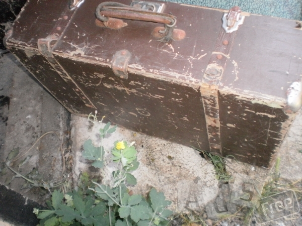 Продам старинный чемодан