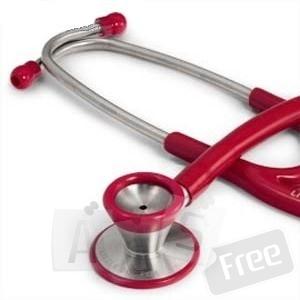 Стетофонендоскоп LD Cardio DARK RED