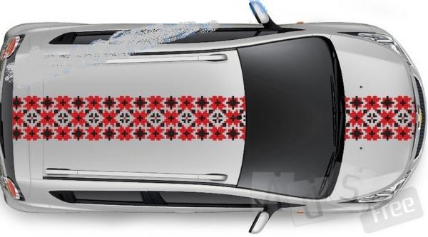 Патріотична наклейка на автомобіль