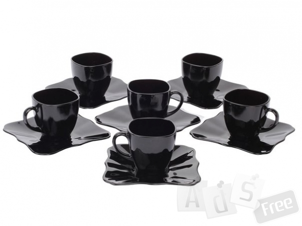 Набор чайный LuminarcAuthentic Black 220мл