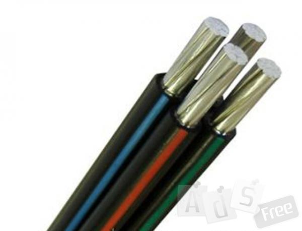 кабель, сип 4х120 б/у эксплуатация 1год