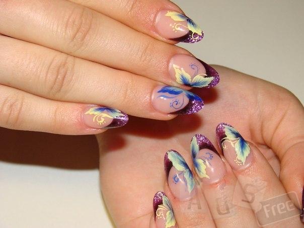 Наращивание ногтей, китайская и худ. роспись, лепка.