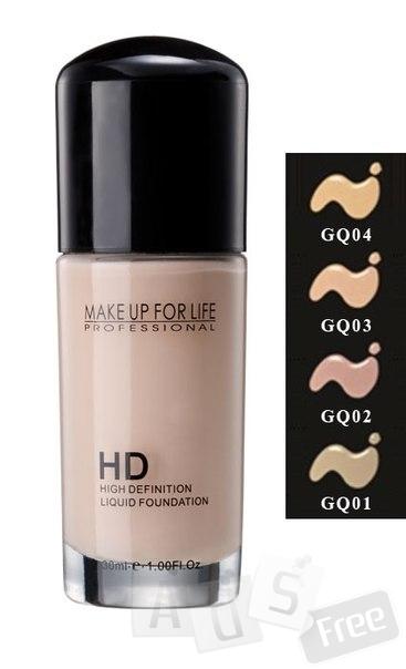 HD Тональная основа (HD Liquid foundaiton).