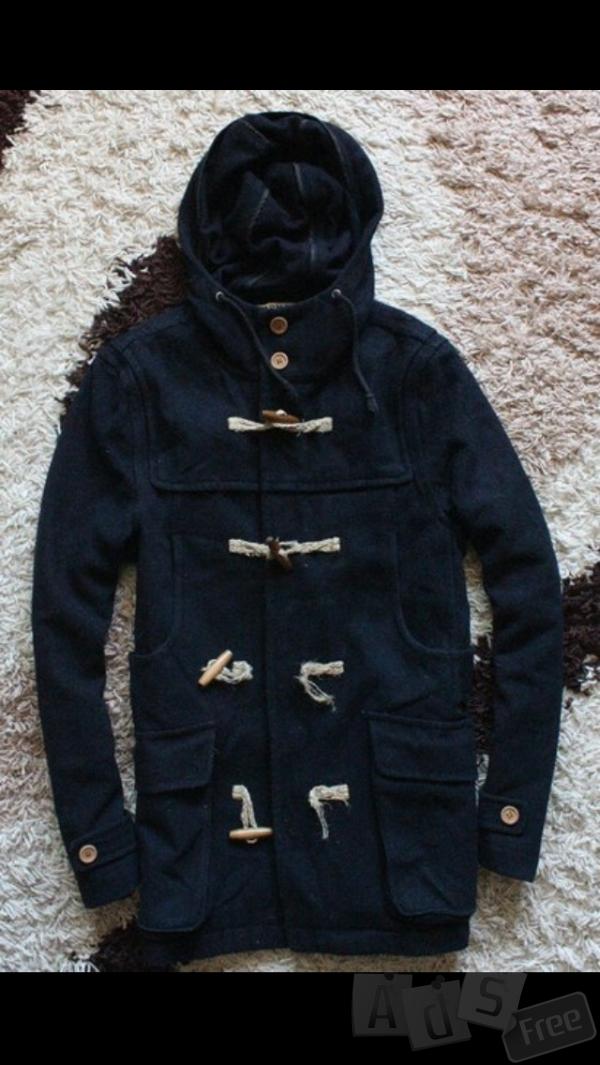 Продам теплое стильное мужское пальто