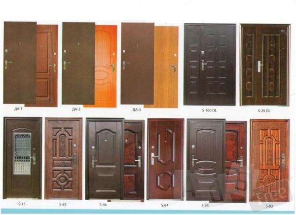 обшивка реставрация утепление дверей