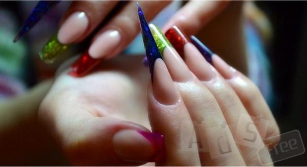 Моделирование Френч-Декор + 5 форм ногтей