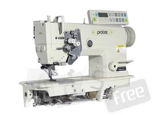 Электронная двухигольная промышленная швейная машина