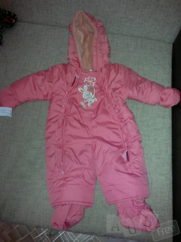 Продам новый детский комбинезон осень-зима для девочки