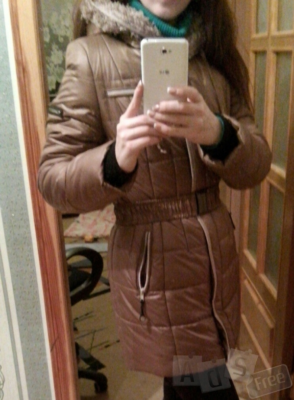 новая курточка,очень теплая