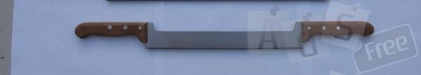 Нож для сыра и масла с двумя ручками