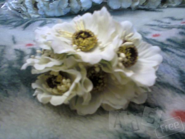 Цветы 6 шт пучок