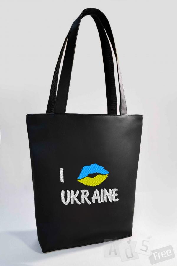 cумка с украинской символикой