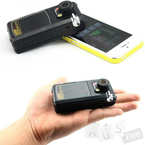 Видеорегистратор DVR mini 900 ,пульт+FUHD+GPS