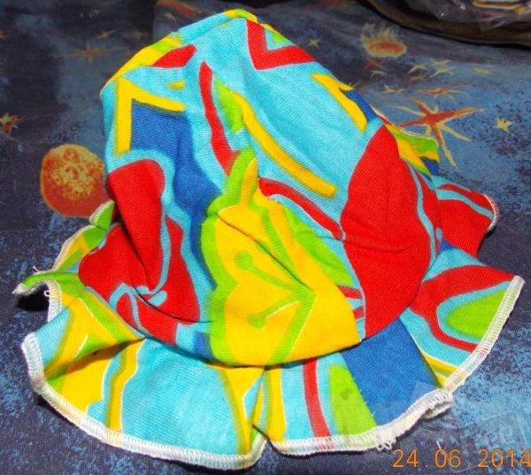 Шляпка-панамка кулир