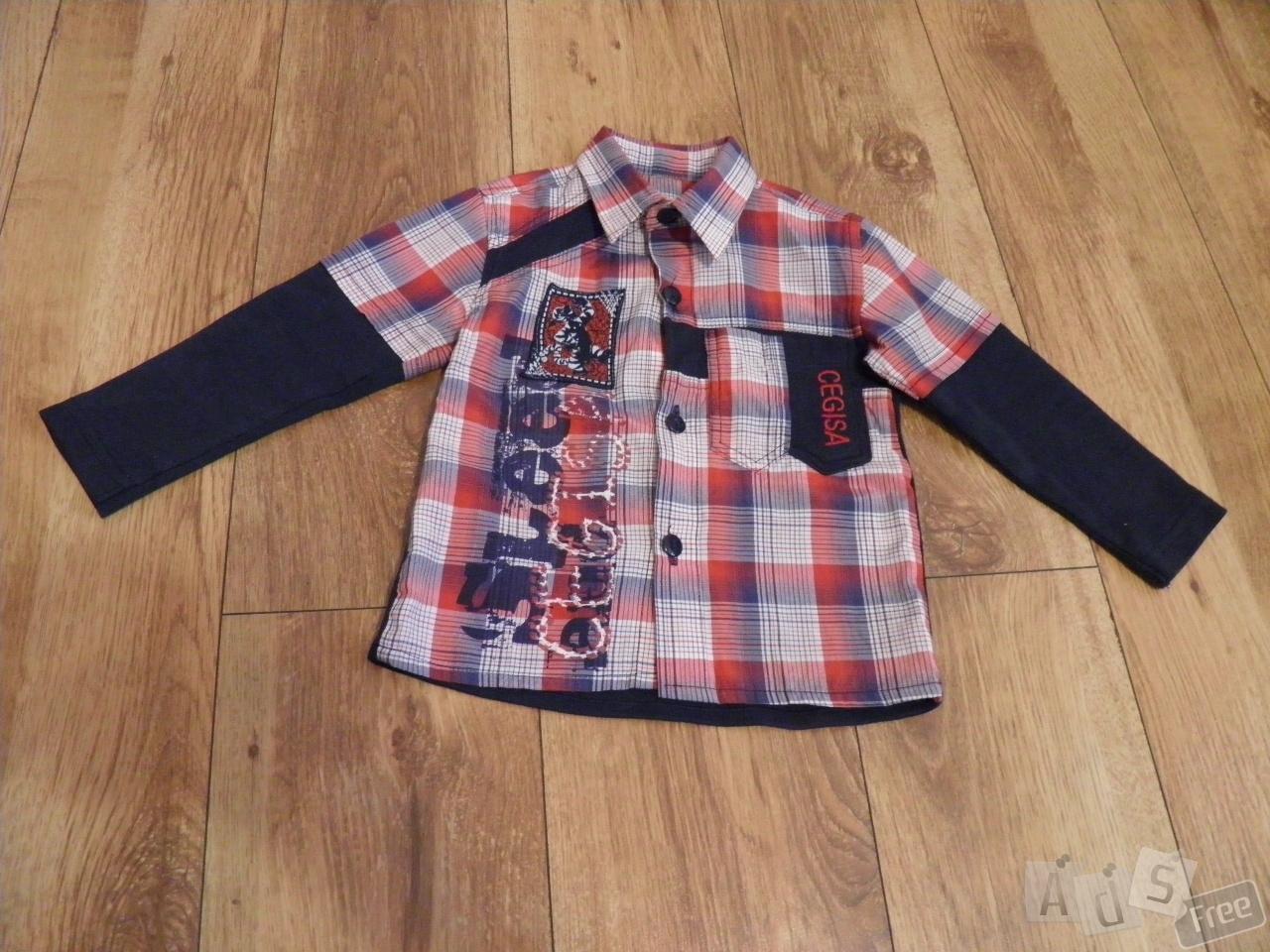 Модная рубашка для мальчика