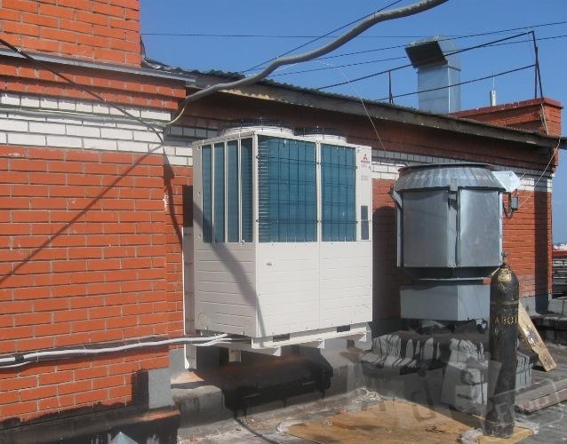 Кондиционирование. Работы в Киеве