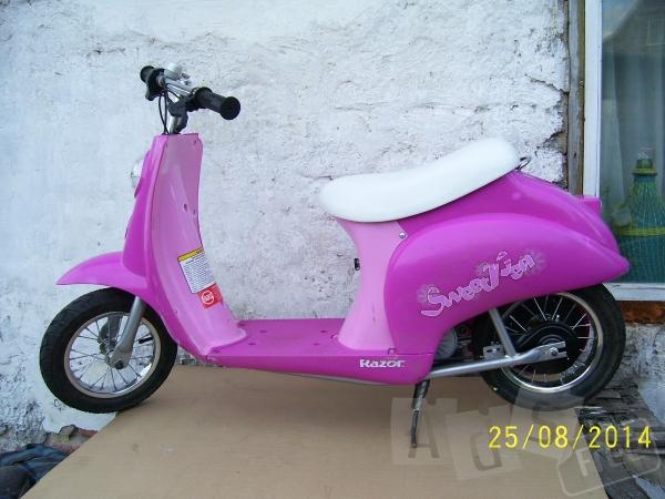 Электрический скутер мопед