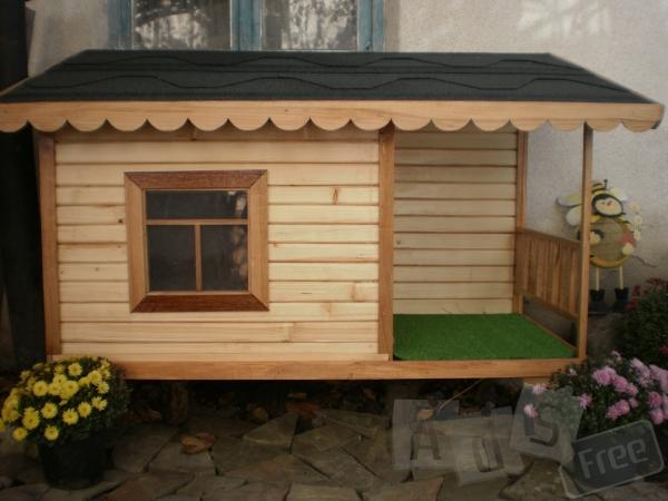 Изготовим будки для собак