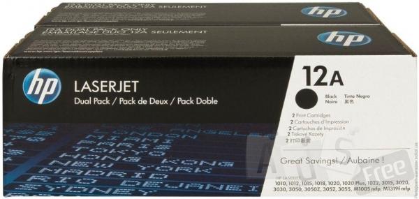 Картридж лазерный черный HP Q2612