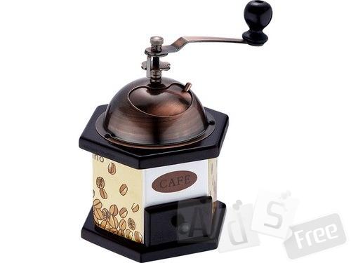 Кофемолка с керамическим корпусом.