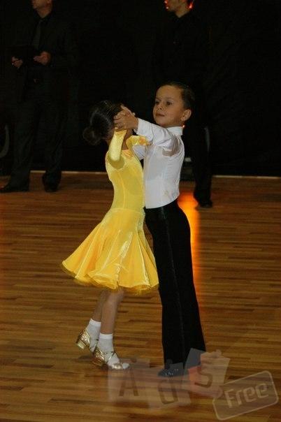 Танцевально-спортивный клуб «Карнавал-Спартак» проводит набор на спортивные бальные танцы детей с 5 лет
