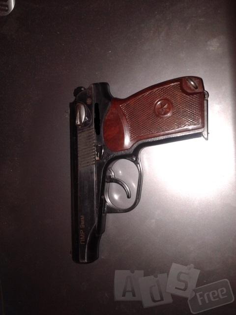 Продам травматичискый пистолет ПМР 9мм.