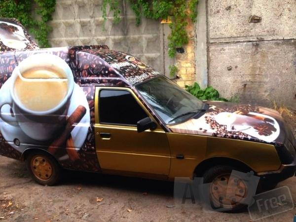 Супер Мобильная кофейня на колесах.