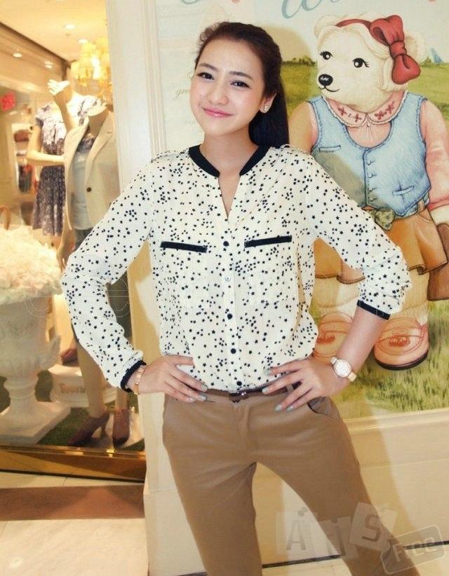 Новая блуза, Китай