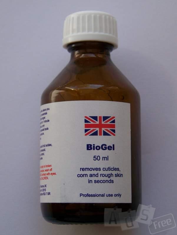 биогель для педикюра