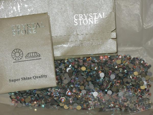 Стразы ss20 crystal AB