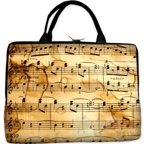 Новая сумка для ноутбука подарок для людей музыкальных профессий