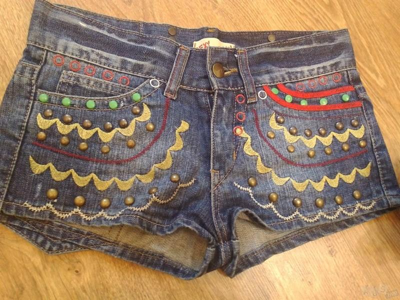 шортики джинсовые из Турции