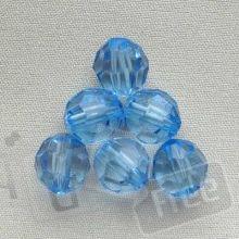 Бусинки блакитні
