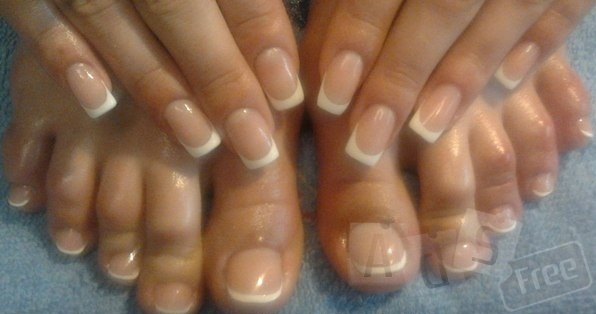 Наращивание гелевых ногтей, покрытие гель-лаком на руках и ногах