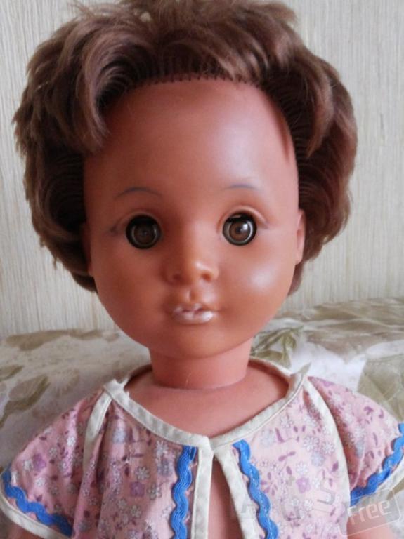 Кукла времен СССР 1950-1960 годов.